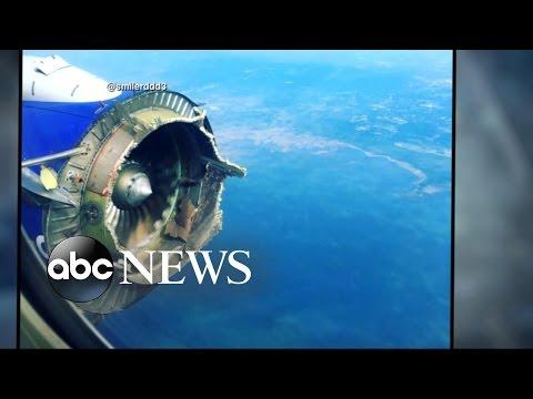 Southwest Flight Makes Emergency Landing After Catastrophic Engine Failure Midair