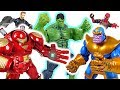 Thanos controls the Hu! Marvel Avengers Infinity War Hubuster and Iron Man! Go! - DuDuPopTOY
