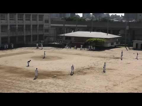 堺市立大浜中学校VS堺市立浜寺南中学校 練習第1試合 ダイジェスト その1