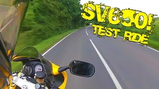 5. Old School SV650 Test ride!