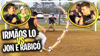 BANHEIRISTAS vs JON VLOGS e RABICO - DESAFIO COM CHUTES OUSADOS!
