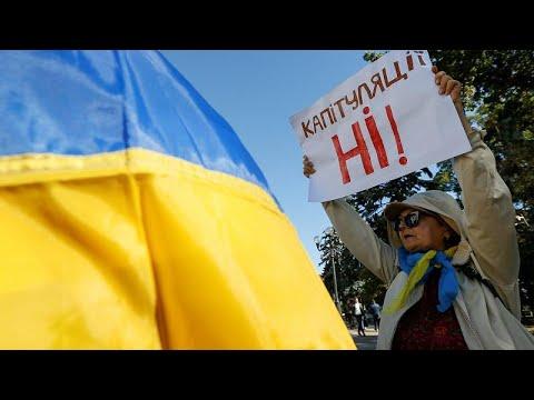 Ukraine: Opposition protestiert gegen Präsident Selens ...