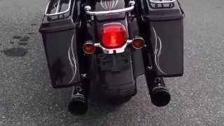 4. 2006 Harley-Davidson FLHX Street Glide in Black Cherry