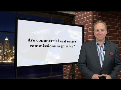 Are real estate commissions negotiable?