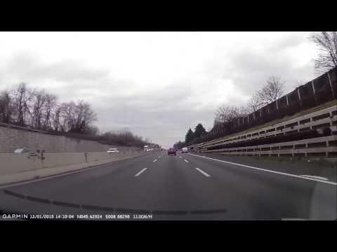 In autostrada in contromano