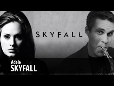 saxophone - SUBSCRIBE http://bit.ly/BriansThingYT My favorite song out right now... Skyfall by Adele. It was a pretty cool movie too. I'm a big James Bond fan. I receive...