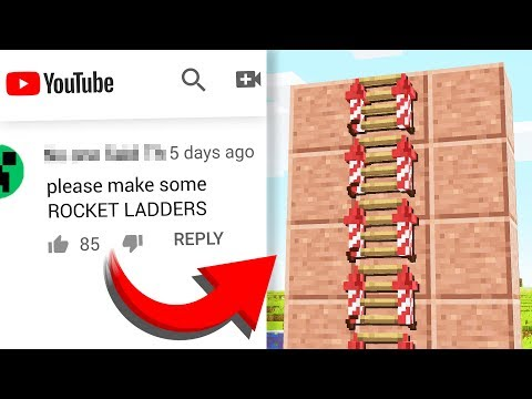 Turning COMMENTS Into Minecraft CRAFTING RECIPES! #2