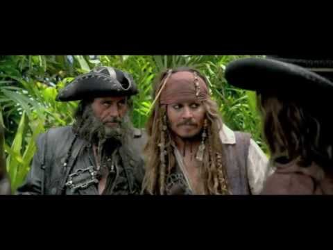 Pirates of the Caribbean - On Stranger Tides - Waterfall Scene