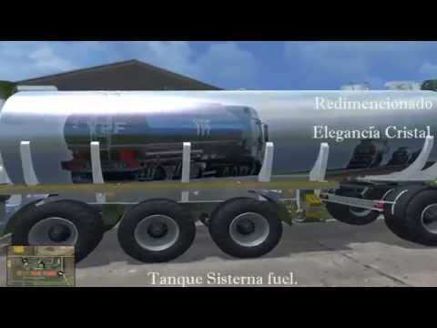 Tanque Sisterna  fuel + Attachers v1