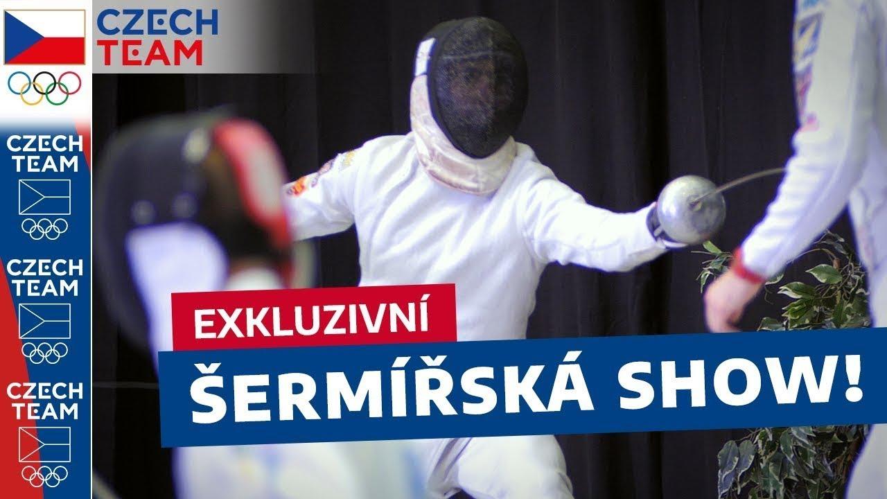 Velkolepá šermířská show, kterou Česko ještě nevidělo! | VLOG