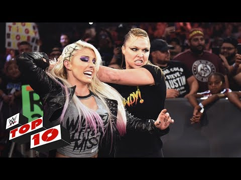 Top 10 Raw Moments: WWE Top 10, July 16, 2018