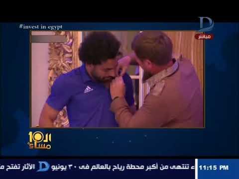 وائل الإبراشي يدافع عن لقاء محمد صلاح ورئيس الشيشان