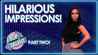 Video HILARIOUS Impressionists On Britain and America's Got Talent! PART TWO | Top Talent MP3, 3GP, MP4, WEBM, AVI, FLV Maret 2019