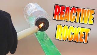 Как сделать простую реактивную ракету