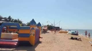 Голубицкая - 2016 - Обстановка на пляже ПК КАВКАЗ