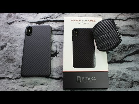 PITAKA MagCase & MagMount Combo || iPhone X (видео)