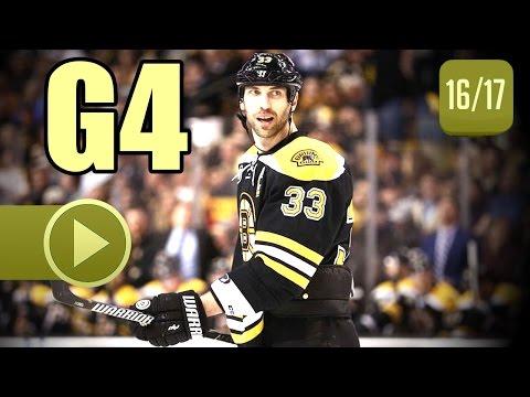 Ottawa Senators vs Boston Bruins. 2017 NHL Playoffs. Round 1. Game 4. April 19th, 2017. (HD)