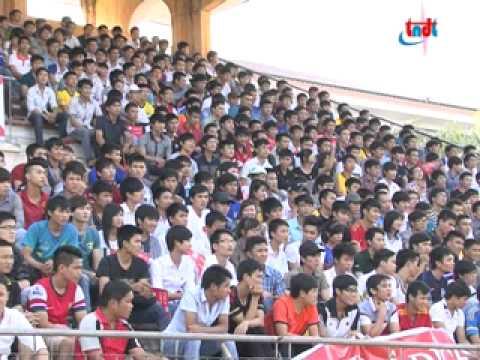Chung kết giải bóng đá sinh viên Thái Nguyên 2013