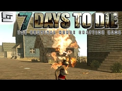 7 Days To Die Gameplay: FIRE ZOMBIE! E4 (Alpha 11 Walkthrough)