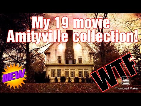 My Amityville bluray and DVD collection! 19 titles so far!