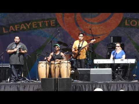 Pedrito Martinez Group at Festival International 2012, Lafayette, Louisiana USA online metal music video by PEDRITO MARTINEZ