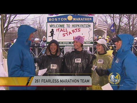 Team 261 Fearless On Running The 2018 Boston Marathon
