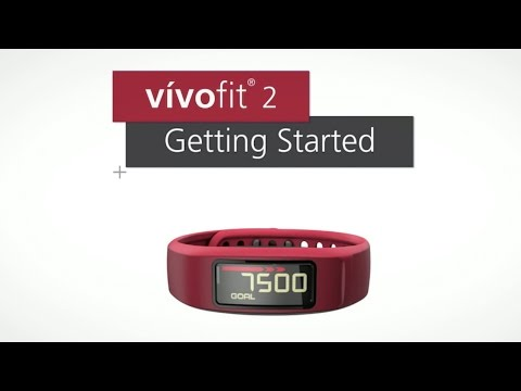 VIDEO: Garmin vivofit 2 - Getting Started