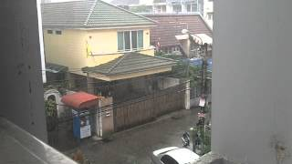 Small Rain In Cool Season Bangkok Thailand
