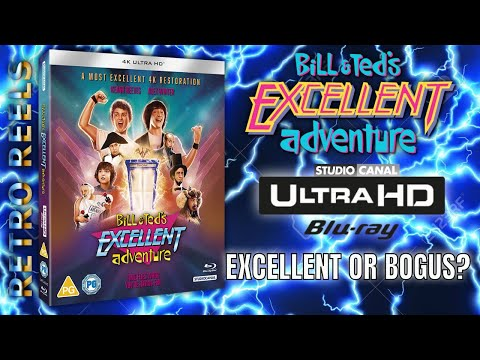 Bill & Teds Excellent Adventure (1989) 4K Ultra HD Review - Excellent or Bogus?