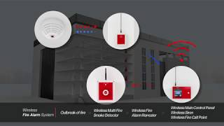 video thumbnail WIRELESS FIRE ALARM SYSTEM youtube
