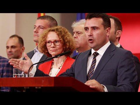 Σκοπιανό: Ο πρόεδρος «έδιωξε» Ζάεφ-Ντιμιτρόφ σε δύο λεπτά…