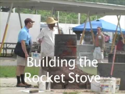 The principles of a rocket stove and how to build one.