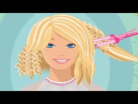 BARBIE - Barbie Snip 'n Style Salon | English Episode Full Game | BARBIE (Game for Children)