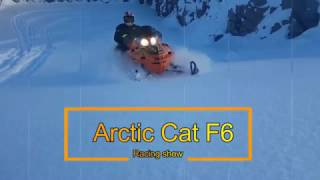 10. Arctic Cat F6 fun racing day!