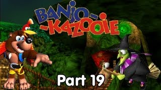 Let's Play Banjo Kazooie - #19. Bear and Bird Vs. Evil Witch; A Battle for the Ages!