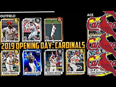 Paul Goldschmidt CARDINALS Opening Day Roster Build MLB The Show 18!