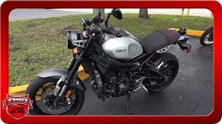 10. 2016 Yamaha XSR900 Motorcycle Review