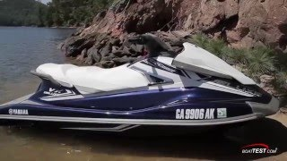 8. Yamaha VX Deluxe (2016-) Review Video- By BoatTEST.com