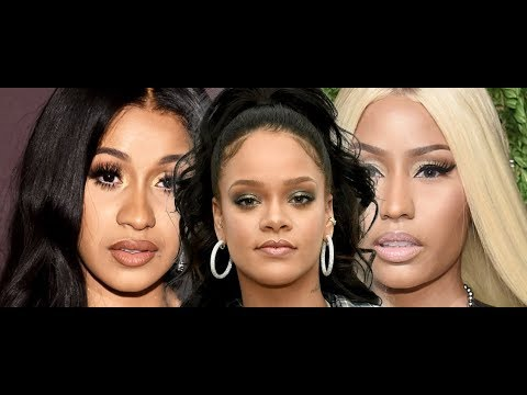 Cardi B Allegedly HAS ISSUE WITH RIHANNA, Nicki Minaj and Cardi B at Milan Fashion Week, DRAMA