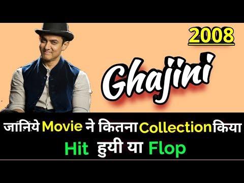 Aamir Khan GHAJINI 2008 Bollywood Movie LifeTime WorldWide Box Office Collection