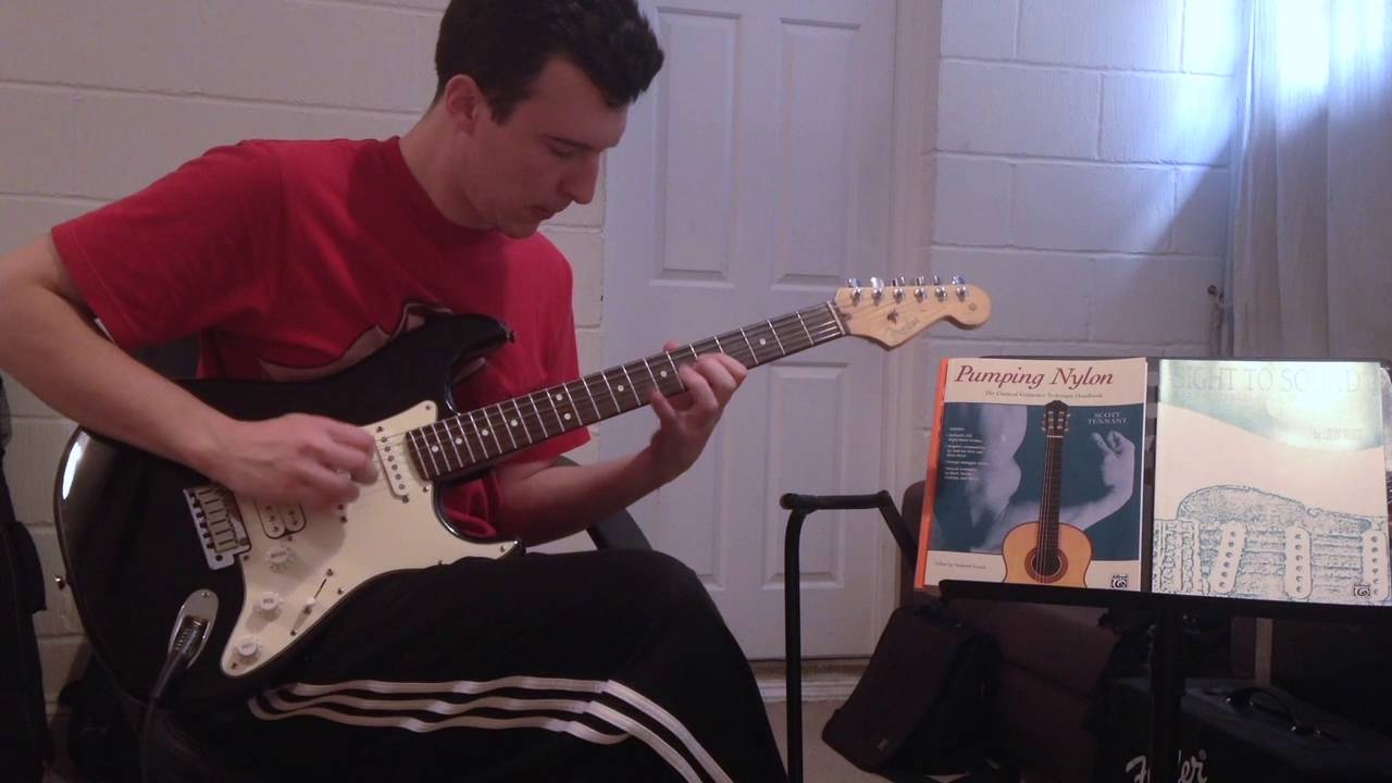 Blues in A – Solo – John Bishop Guitar Legends Competition