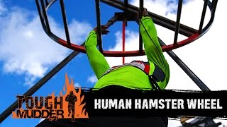 Tough Mudder | Human Hamster Wheel | 2015 Obstacles - YouTube