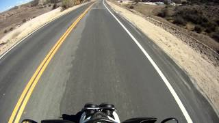 7. 2012 Yamaha Zuma (BWS) 125 stock top speed almost 70 mph downhill run