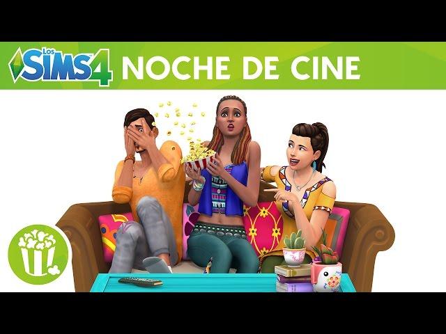 Los Sims 4 Noche de Cine Pack de Accesorios: tráiler oficial