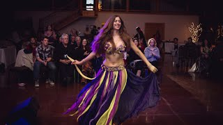 DRUM SOLO / Sadie with David Hinojosa & Orchestra / Sadie's Bellydance & Music Retreat Gala Night