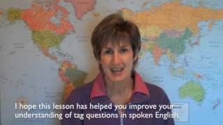 Tag Questions In Spoken English