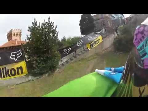 mountain bike - fox urban downhill imperia 2015