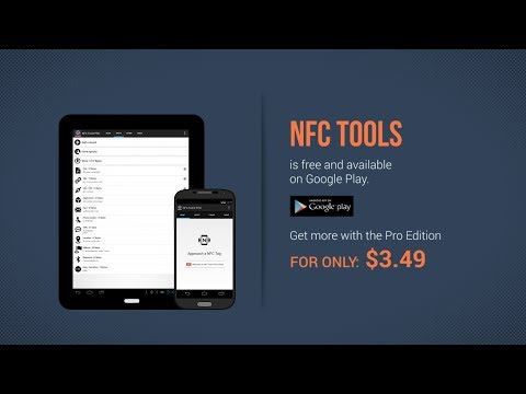 Video of NFC Tools Plugin : Reuse Tag
