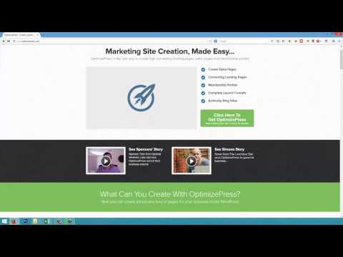 Building Launch Funnels, Landing and Sales Pages in Minutes on Wordpress