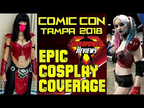 Tampa Comic Con 2018 Epic Cosplay Music Video